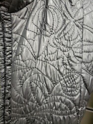 texture noir Gilet Zip jusqu'à fraîche Chicos 1 d'extérieur à Cori wfqBUIA