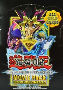 Yugioh The Dark Side Of Dimensions Movie Pack Mvp1 Gold Rare 1st Ed