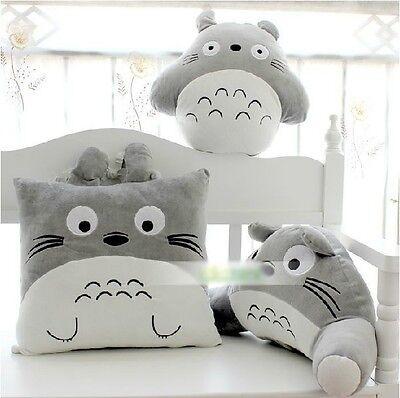 New My Neighbor Totoro Doll Cushion Cartoon Toys Totoro Plush Toy Stuffed Pillow