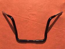 """12.5"""" GLOSS BLACK Ape Hanger Handlebar fits Harley Davidson ULTRA / STREET GLIDE"""