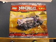 Lego Ninjago Brickmaster 20020 Mini Turbo Shredder New Sealed Set