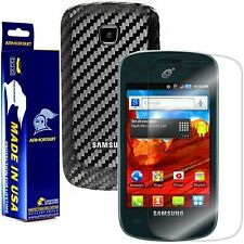 ArmorSuit MilitaryShield Samsung Galaxy Appeal Screen + Black Carbon Fiber Skin