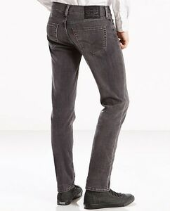 Levi's 511 skinny jeans black stretch
