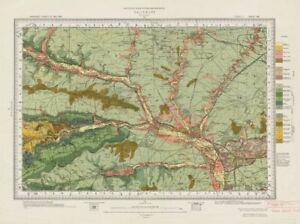 Salisbury Geological Survey Sheet 298 Wiltshire Cranbourne Chase