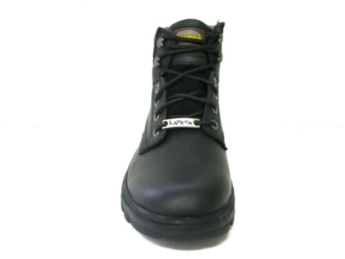 La Vega La Vega Men 6 Black Vegace Vegace zwart lederen Leather Heren 6 5dnZwxqSR