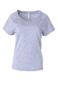 Neu Louis Gr 34 44 Louisa Kurzarm Süße Shirt amp; Sommerzeit Grau