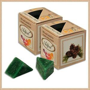 2 x Duftwachs Christbaum | Aroma Duftkerze Schmelzwachs Wax Aromatic