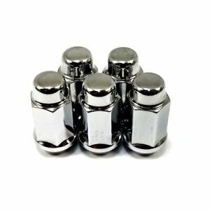 """24x Excalibur 1904L Lug Nuts 1//2/"""" Bulge Acorn 3//4/"""" Hex Chrome 1.75/"""" Closed Long"""