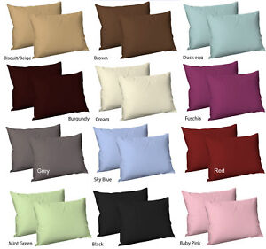 100-Egyptian-Cotton-Sateen-Best-Quality-T300-Pair-of-Pillowcase-Size-50x75-cm