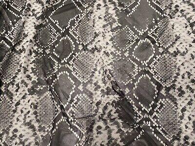 Printed Power Mesh Net Stretch Fabric Per Metre