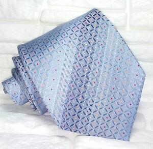 Cravatta-uomo-seta-Italia-blu-azzurro-Jacquard-matrimonio-business
