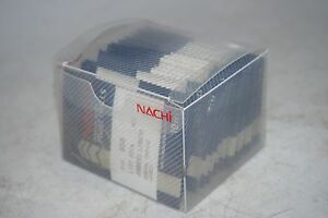 200-new-NACHI-Size-56-501A-Jobber-Length-HSS-Parallel-Shank-Twist-Drill-Bits
