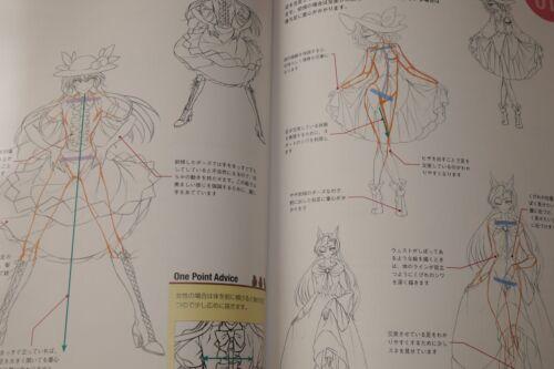 "JAPAN How to draw moving pose Touhou Project-Hen /""Touhou Byougichou/"""