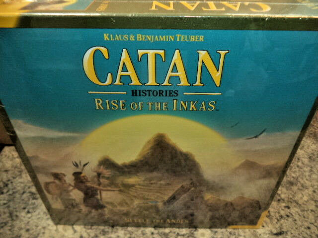Catan  Catan Histories-Rise of the INKAS génial Jeux Jeu de société NEUF