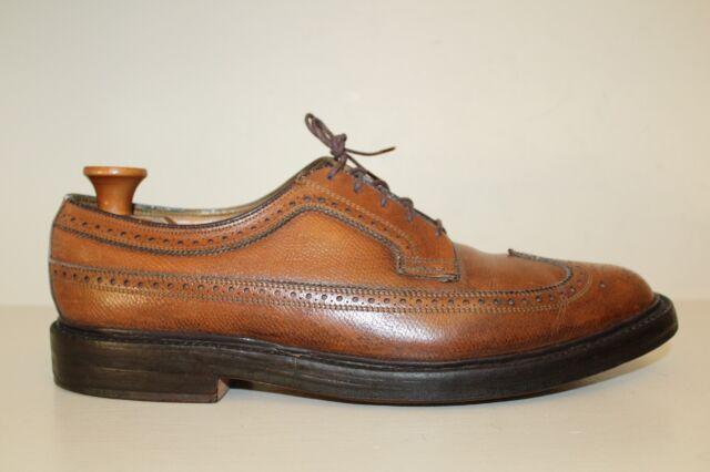 Florsheim Imperial Oxford Shoe Sz 10 C 5 Nail V Cleat Longwing Gunboat Kenmoor