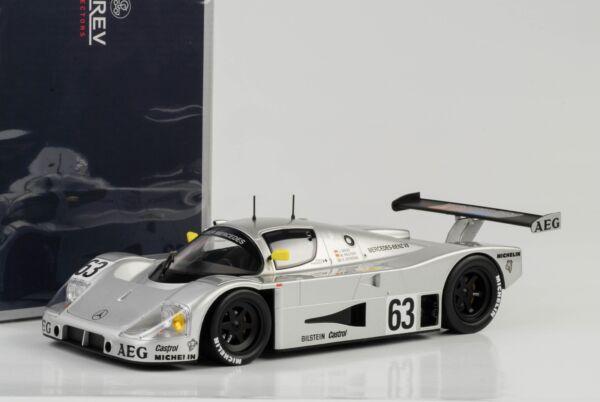 1989 Propre Mercedes C9 #63 Gangant 24h Le Mans Dimensions Dickens Reuter 1:18
