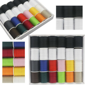 24 Spools 24 10 1 Colour Finest Quality Sewing All Purpose 100/% Cotton Thread Reel