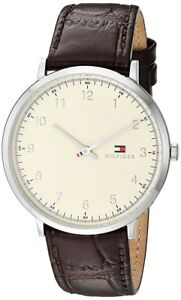 bf3b6480622 Image is loading BRAND-NEW-Tommy-Hilfiger-Analog-Casual-Watch-James-