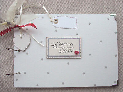Personalised Handmade A4 Condolence Dad Memory Scrapbook Photo Album QUICK POST