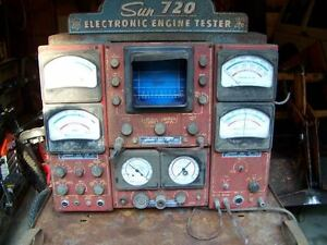 sun electric 720,740,920,1020,1120+ 1160 engine analyzer ...