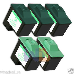 5-PACK-16-26-Lexmark-Ink-Cartridge-for-All-in-One-X1150-X1270-X2250-X75
