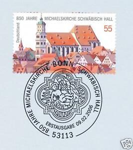 En Herbe Rfa 2006: Michael église Schwäbisch Hall Nº 2522 Avec Bonner Cachet Spécial! 1a!-afficher Le Titre D'origine
