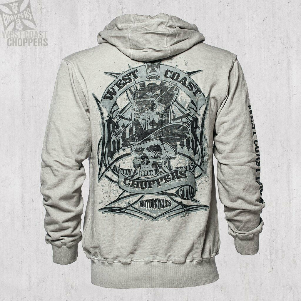 WEST COAST CHOPPERS - Cash Only Zip Hoody