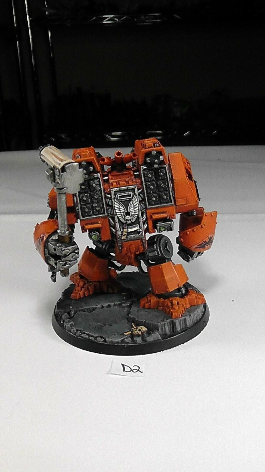 Dreadnought Painted Space Marine Marines Ironclad Astartes Lot 2