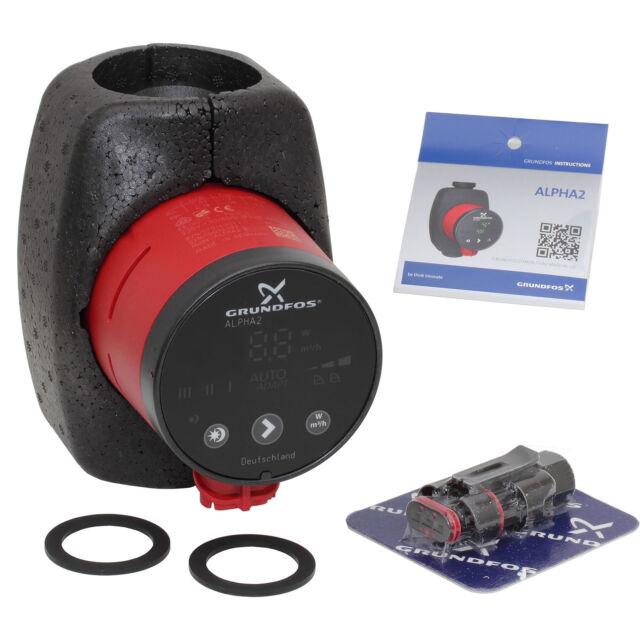 Hocheffizienz-Umwälzpumpe | Alpha2 | 25-60 | 130 mm | Grundfos | 99261724