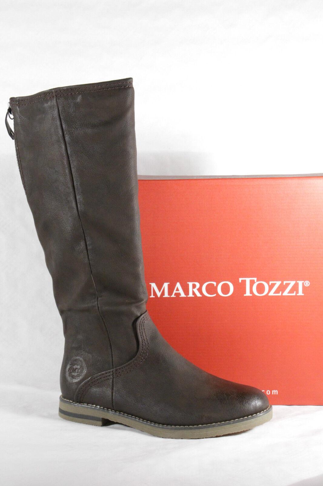 Marco Tozzi braun Damen Stiefel Stiefeletten Winterstiefel braun Tozzi  Neu e51893