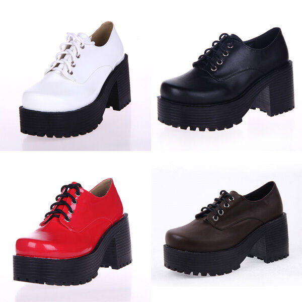 Punk Lolita Japan British Schuluniform Uniform Student Schuhe Schuhes Cosplay Neu