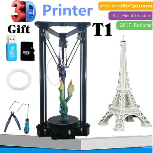 2017 Auto Level Upgraded Linear Version Unassemble Delta 3D Printer Kossel Kit