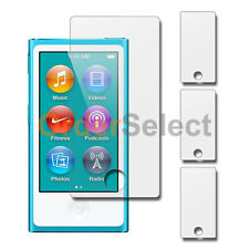 3x Clear LCD Screen Guard Protector for Apple iPod Nano 7 7th Gen 1 100