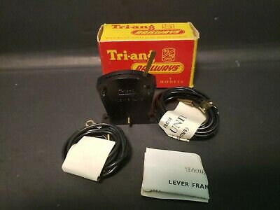 Tri-Ang Railways RT.44  Lever Frame Section with Leads Excellent in box T1