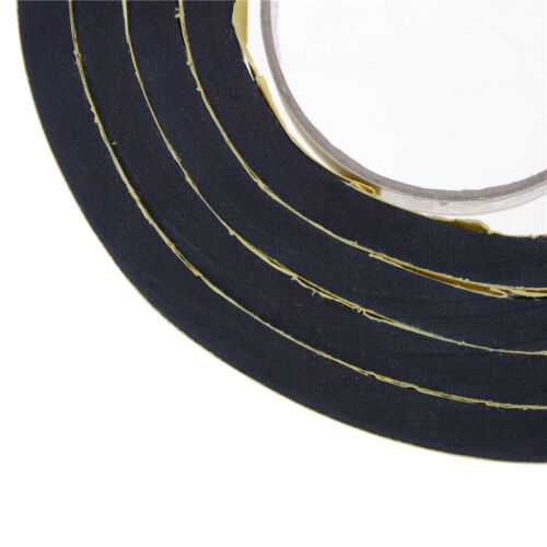 Self Adhesive Foam Sealing Tape Strip Sticky EPDM Sponge Rubber Thick YH