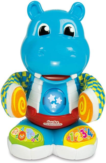Clementoni 61784 Philip, The Dancing Hippo, Multi-Colour