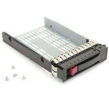 "HP Proliant 3.5"" Caddy SAS/SATA Hot-Swap Hard Drive Tray P/N:335537-001 + Screws"