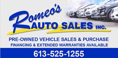 Romeo's Auto Sales Inc