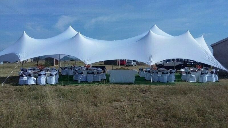 Waterproof stretch tents, marquees & coldrooms for hire in Pinetown