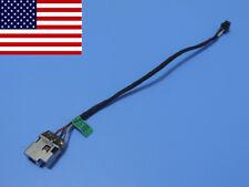DC Power Jack in cable harness for HP Folio 13-1050ca 13-1050ez 13-1050la