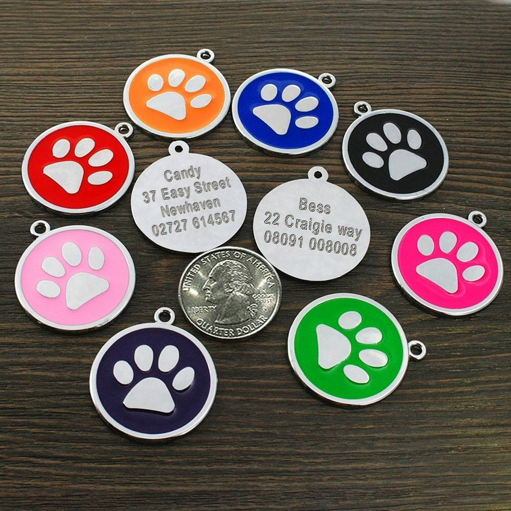 acquisti online PetArtist® Dog ID Tags Paw Paw Paw For Cat Dog Personalized Pet Puppy Tag Custom Collar  acquistare ora