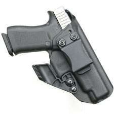 BLACK Kydex Holster for Glock 48 Iwb/Aiwb + CLAW/ WING Adjustable.