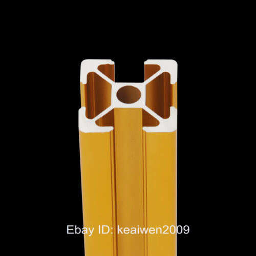 5pcs 2020 Aluminum Profiles Extrusion Frame 200mm Length 3D Printer Parts Golden