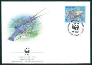 Bien éDuqué Kiribati Bijoux-fdc 1998 Wwf Faune épines Langouste Homard Langouste Em28-afficher Le Titre D'origine Design Professionnel