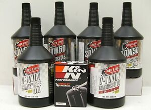 99-06-Harley-Twin-Cam-Red-Line-Oil-Filter-Change-Kit