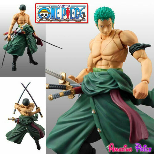Japanese Anime One Piece ZORO Statue Figure Jouet VARIABLE Action HEROES ROP149