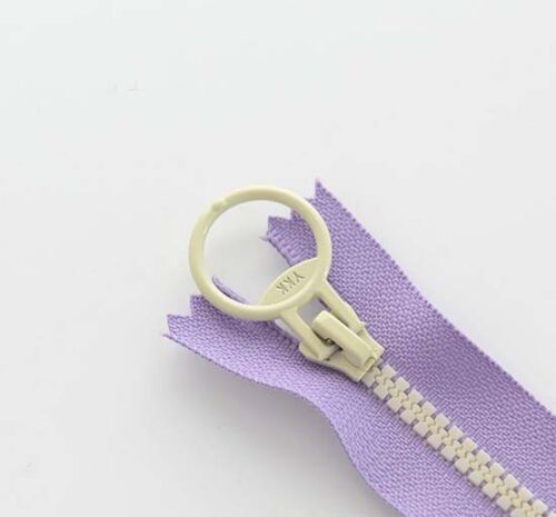 20 CM 30 CM Zipper for purse or bags manufacture 9 colors Ring pull DIY D2