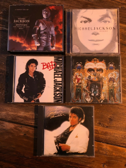 Michael Jackson: Flere, pop, Michael Jackson cd'er 25,- kr.…