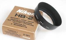 NIKON HB-2 LENS HOOD IN ORIG. BOX