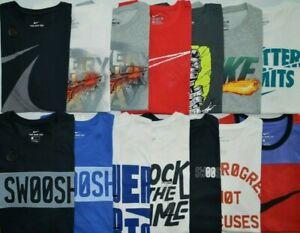 Men-039-s-Nike-THE-NIKE-TEE-Athletic-Cut-Dri-Fit-Cotton-T-Shirt